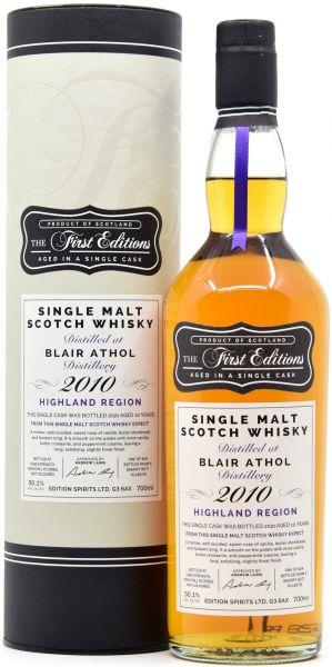 Blair Athol 10 Jahre 2010/2021 Sherry Cask First Editions 50,1% vol.