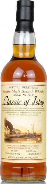 Classic of Islay #9127 55,8% vol.