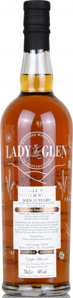 Tamdhu 11 Jahre 2007/2018 PX Sherry Octave Finish Lady of the Glen 60,0% vol.