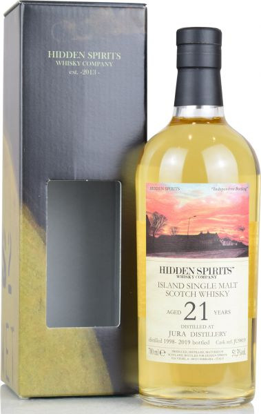 Jura 21 Jahre 1998/2019 Hidden Spirits Highproof 51,3% vol.