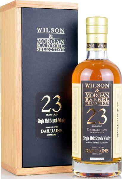 Dailuaine 23 Jahre 1997/2020 Sherry Cask Wilson & Morgan 55,4% vol.