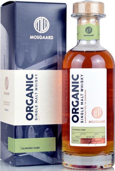 Mosgaard Organic Batch #8 Oloroso Sherry Cask 46,2% vol.