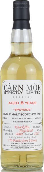 Knockdhu 2009/2017 Carn Mor Strictly Limited 46% vol.