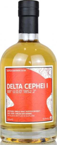 Delta Cephei I 2011/2019 Virgin Oak Scotch Universe 59,9% vol.