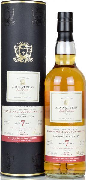 Tormore 7 Jahre 2011/2018 Rioja Cask A.D. Rattray 64,9% vol.