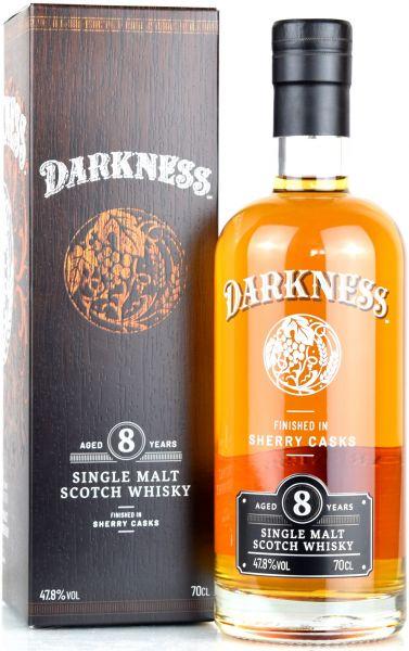 Darkness 8 Jahre Sherry Cask Finish 47,8% vol.