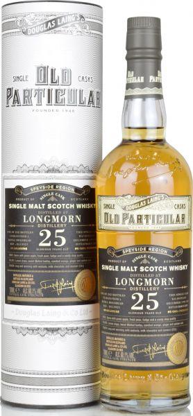 Longmorn 25 Jahre 1994/2020 Old Particular Douglas Laing 60,1% vol.