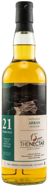 Arran 21 Jahre 2000/2021 The Nectar of the Daily Drams 52,2% vol.