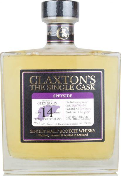 Glen Elgin 14 Jahre 2006/2020 Claxton's 57,1% vol.