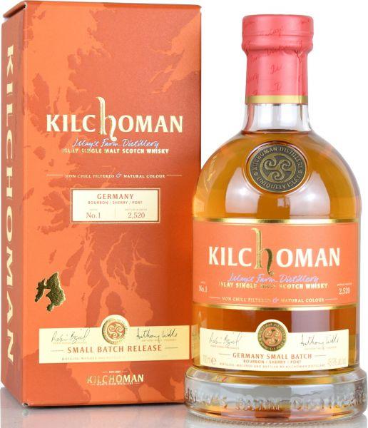 Kilchoman Germany Small Batch No.1 48,9% vol.