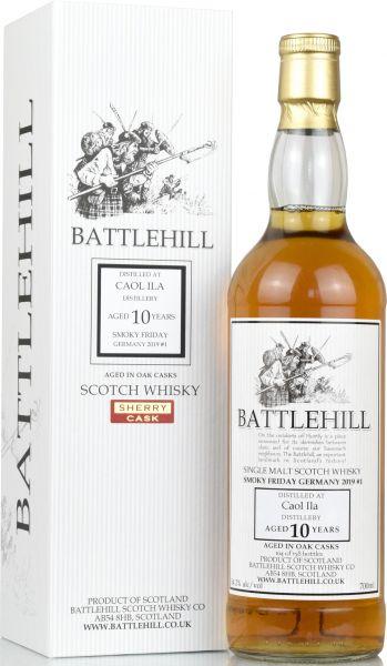 Caol Ila 10 Jahre 2008/2019 Sherry Cask Duncan Taylor Battlehill 54,2% vol.