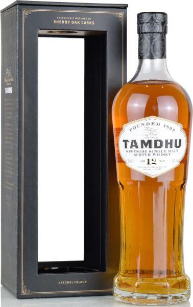 Tamdhu 12 Jahre Sherry Cask 43% vol.