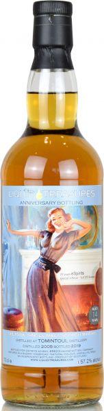 Tomintoul 14 Jahre 2005/2019 Liquid Treasures Anniversary Bottling 57,2% vol.