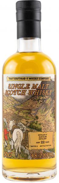 Glen Elgin 22 Jahre Batch #2 That Boutique-y Whisky Company 48,2% vol.